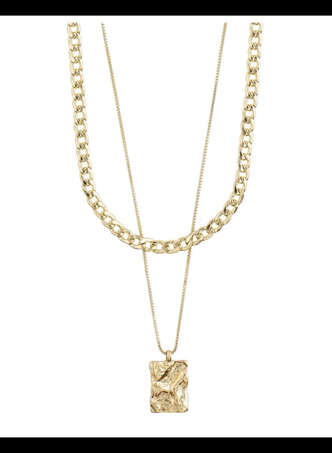 Pilgrim Bathilda Necklace Gold Plated