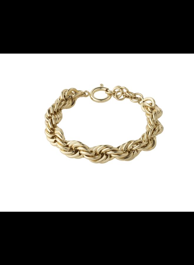 Pilgrim Horizon Bracelet Gold Plated