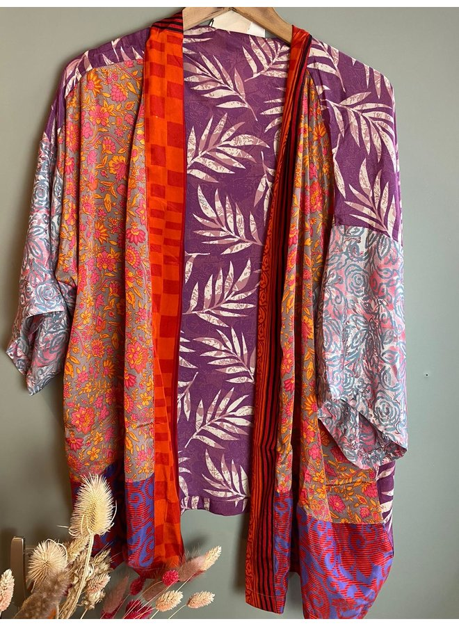 Sissel Edelbo Lotus Short Kimono Mix Nr. 111