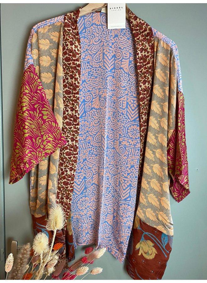 Sissel Edelbo Lotus Short Kimono Mix Nr. 115