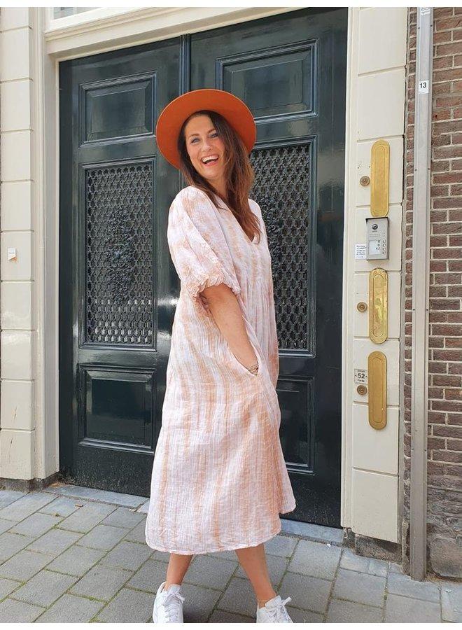 Sissel Edelbo Venice Organic Cotton Midi Tie Dye Dress
