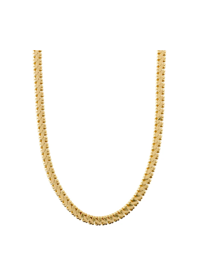 Pilgrim Legacy Chain Necklace Gold Plated