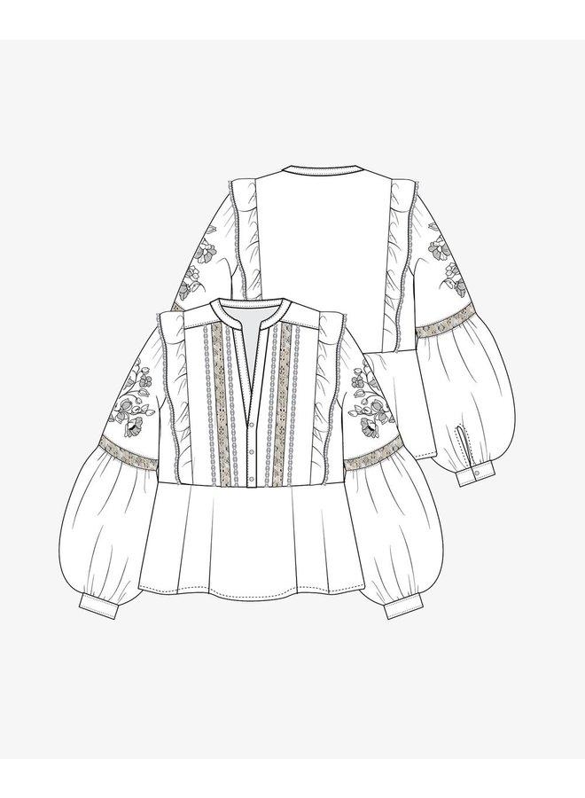 Sissel Edelbo Annie Organic Cotton Shirt Black