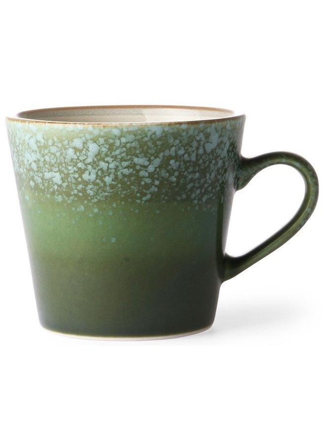 HK Living 70s ceramics Cappuccino Mug - Grass