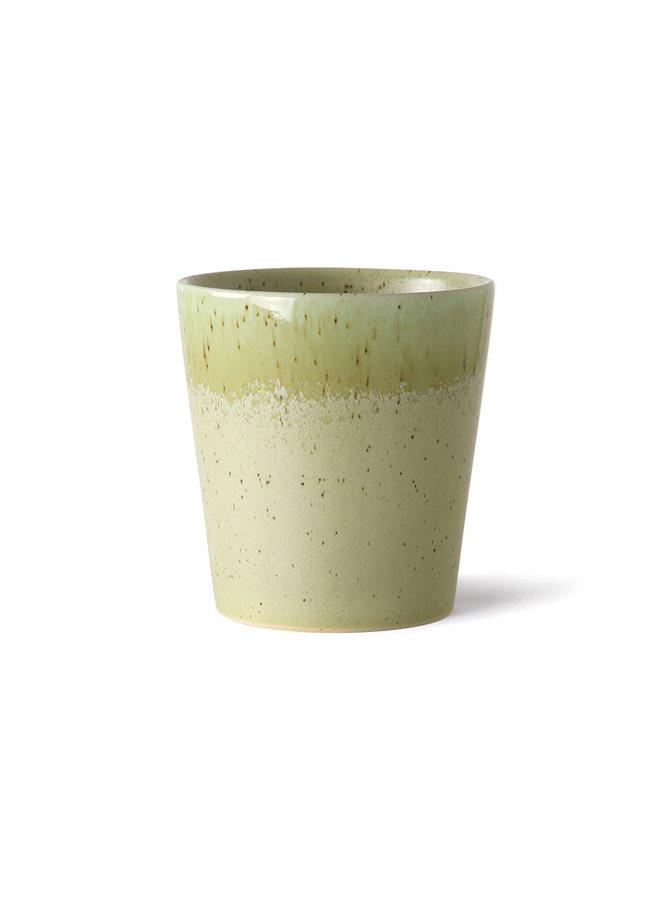 HK Living 70s ceramics Mug - Pistachio