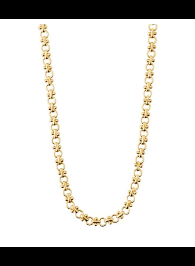 Pilgrim Nomad Gold Plated Necklace