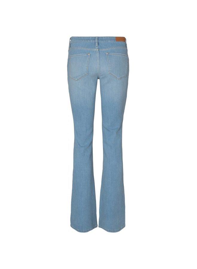 Pieszak Marija Flare Jeans Wash Bleached San Jose Denim Blue