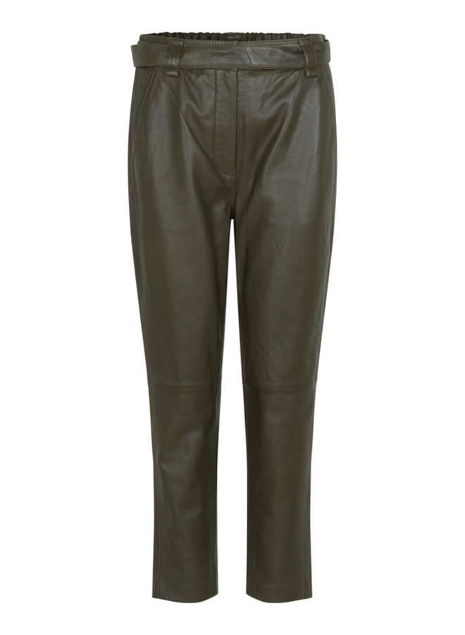 Second Female Indie Leather Trousers Wren