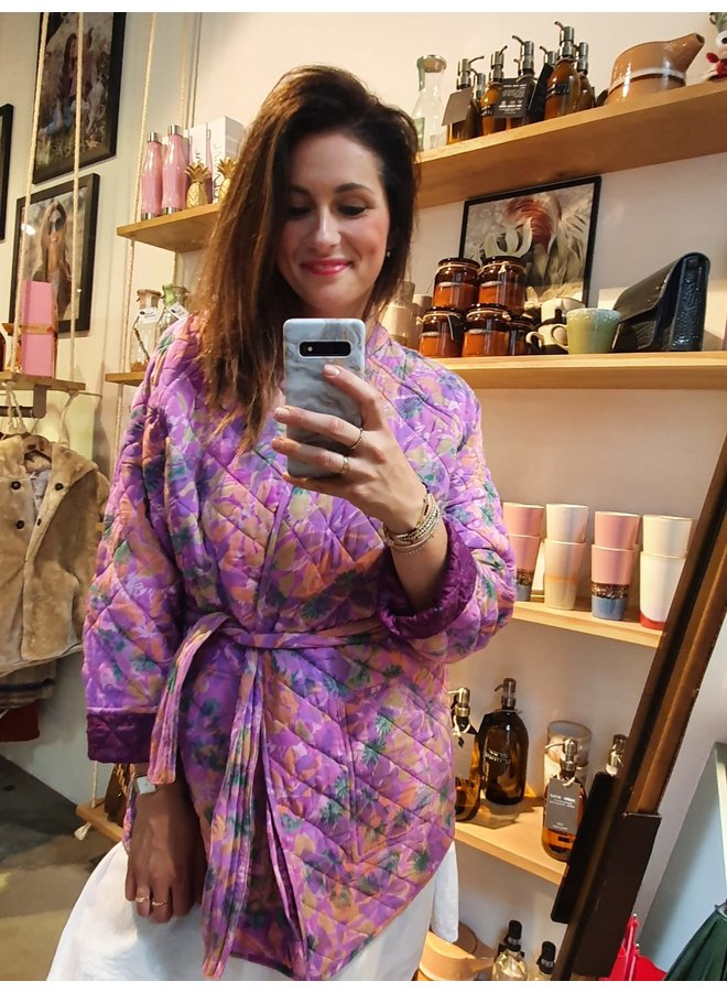 Sissel Edelbo Mia Quilted Silk Jacket nr. 5