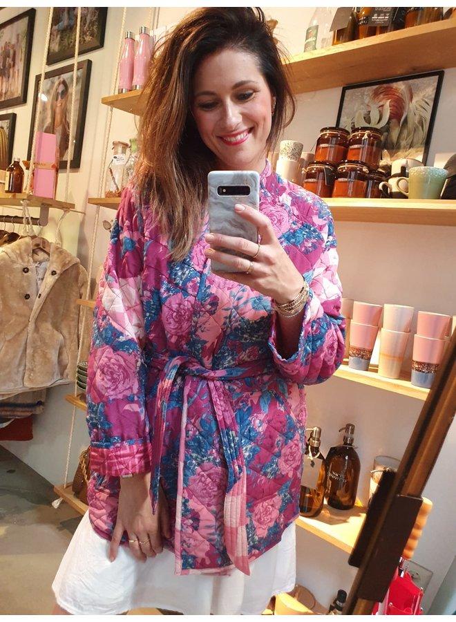 Sissel Edelbo Mia Quilted Silk Jacket nr. 4