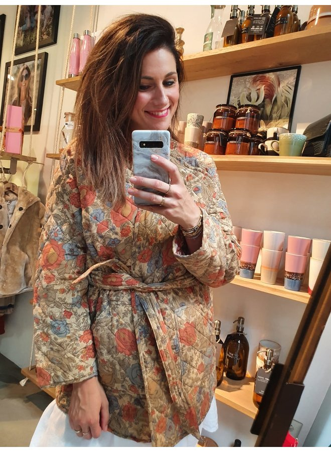 Sissel Edelbo Mia Quilted Silk Jacket nr. 2