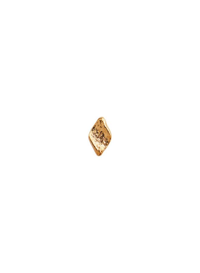 Stine A: Tout Petit Ile De L'Amour Earring Gold