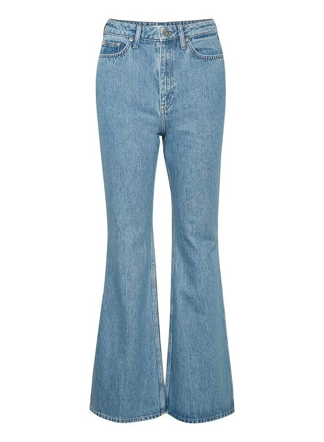 Gestuz Dena HW Flaired Washed Classic Blue