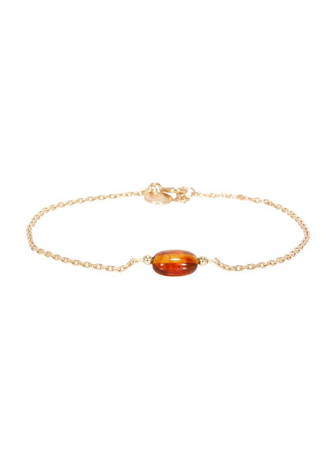 Miab armband goud - Amber Chain