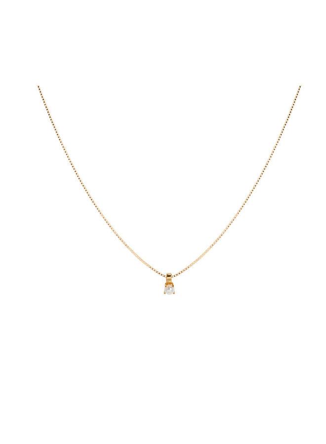 Miab ketting goud - Le Pearl