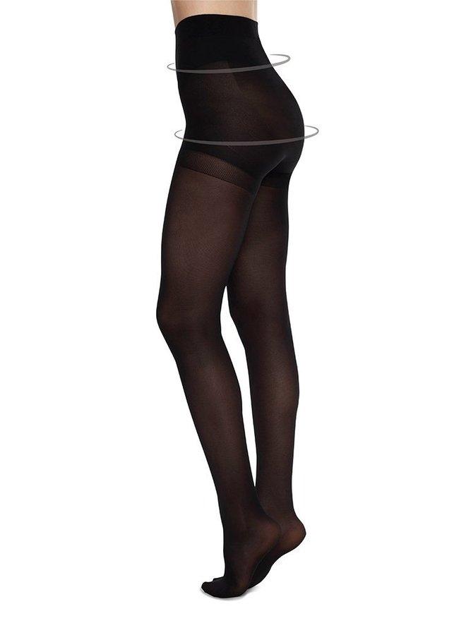 Swedish Stockings Anna Control Top Tights Black