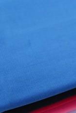 21 Wale Ribfluweel blauw