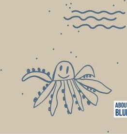 About Blue About Blue French Terry Let me be octopus