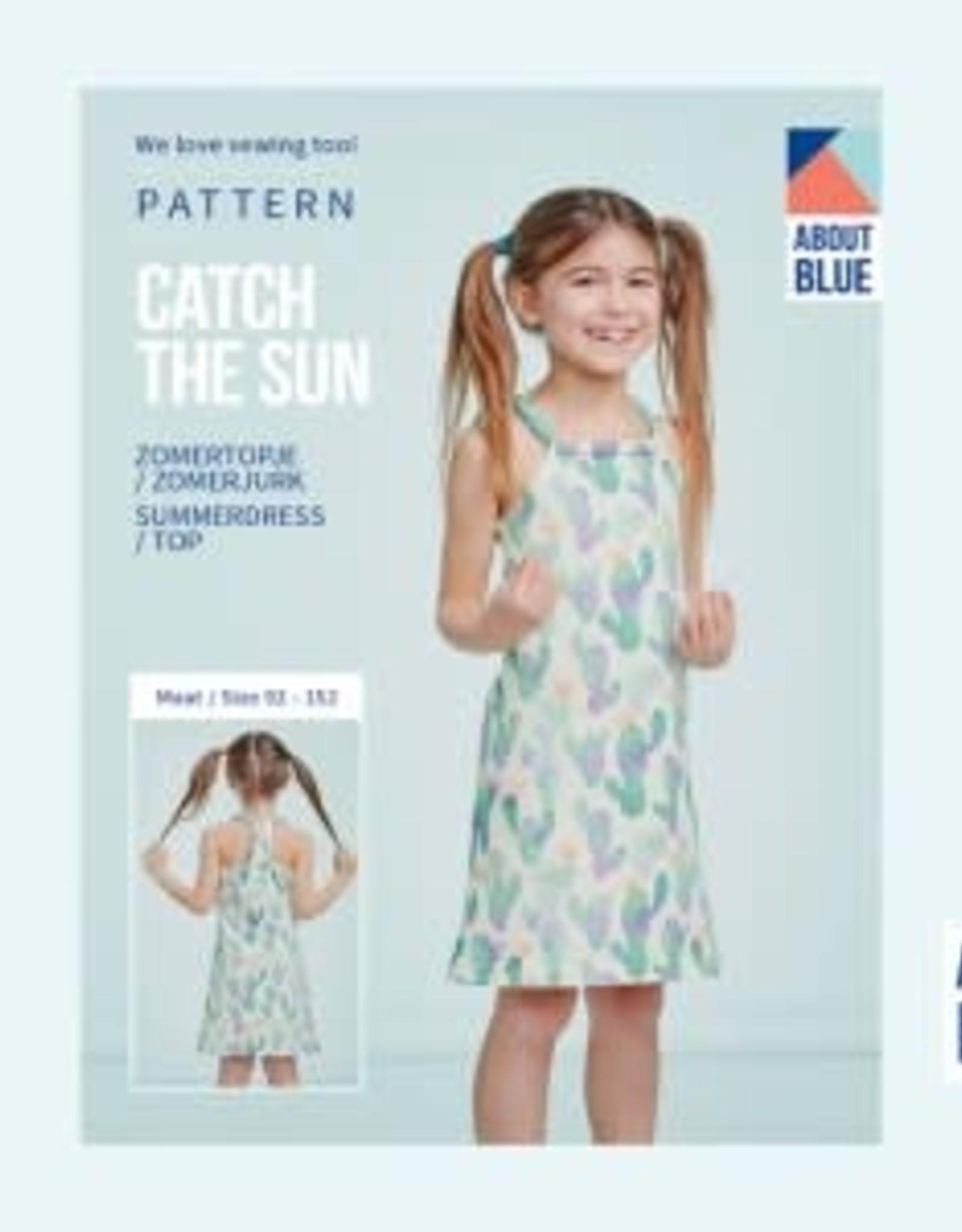 About Blue About Blue papieren naaipatroon Catch The Sun