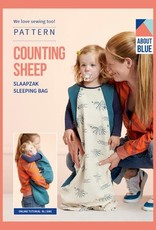 About Blue About Blue papieren naaipatroon Counting Sheep Sleeping Bag