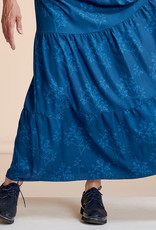 About Blue About Blue Viscose Crepe Flowers and Applause