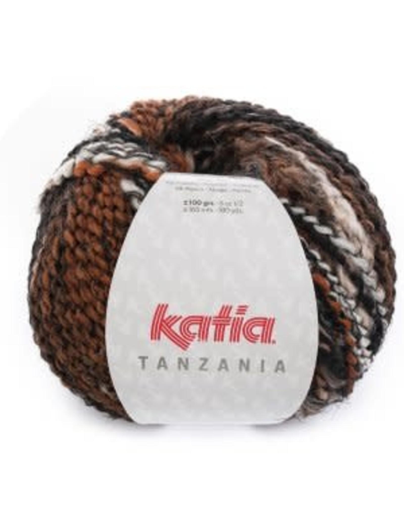 Katia Katia Tanzania 102 oranje-wit-zwart