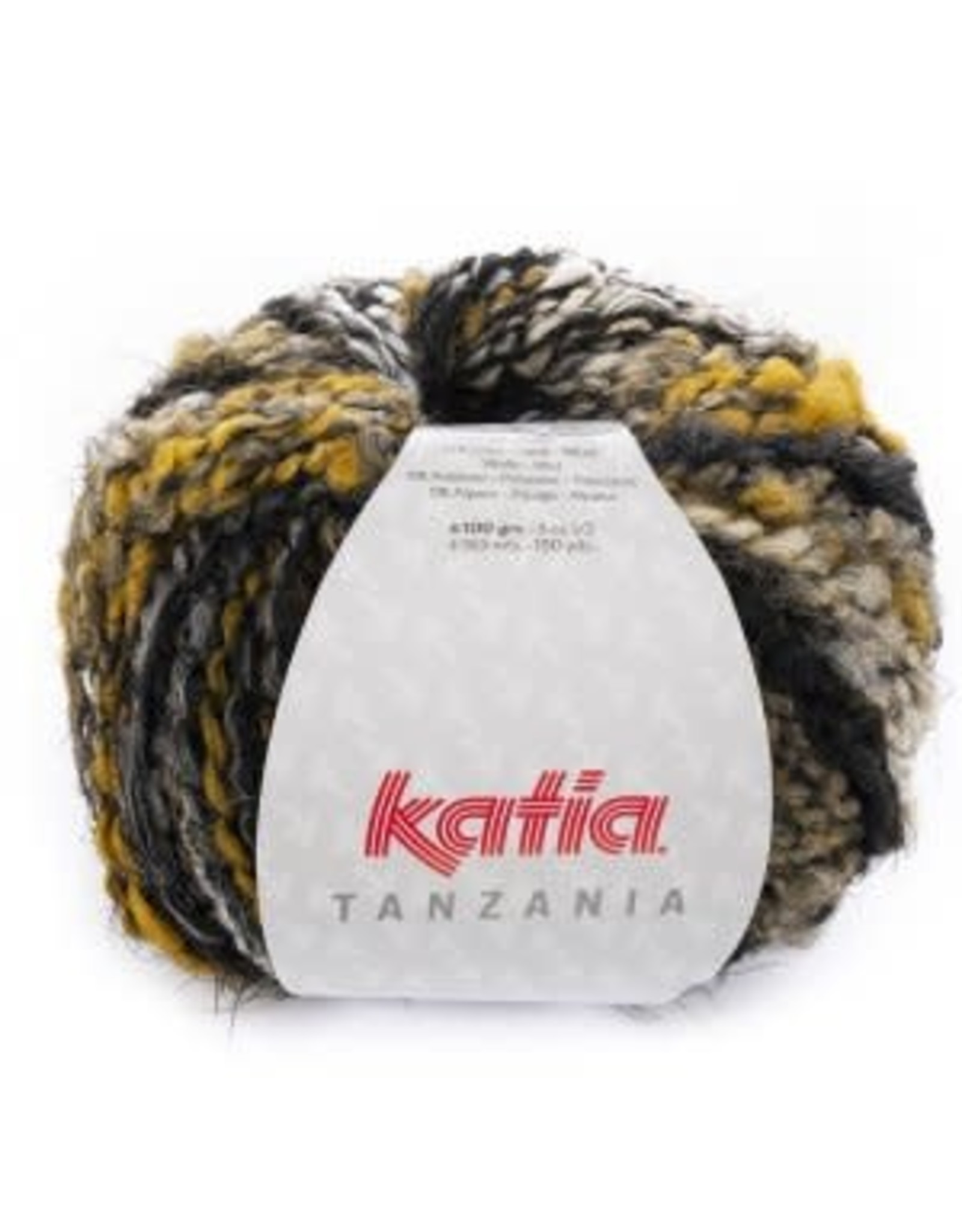 Katia Katia Tanzania 105 geel-wit-zwart