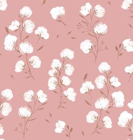 Katia Katia fabrics Softshell 2 Cotton Flower