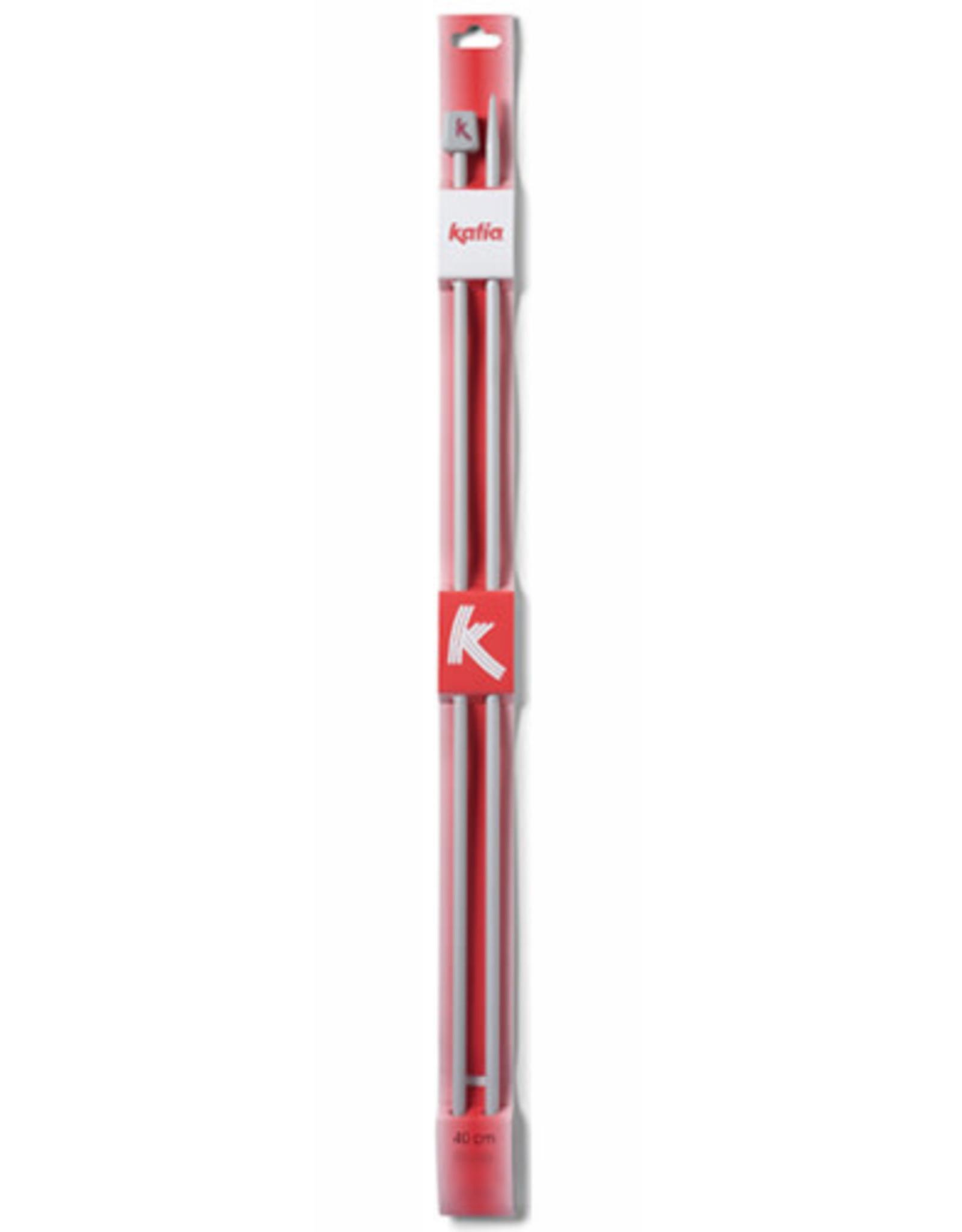 Katia Katia   Breinaalden Aluminium 40 CM Nº6
