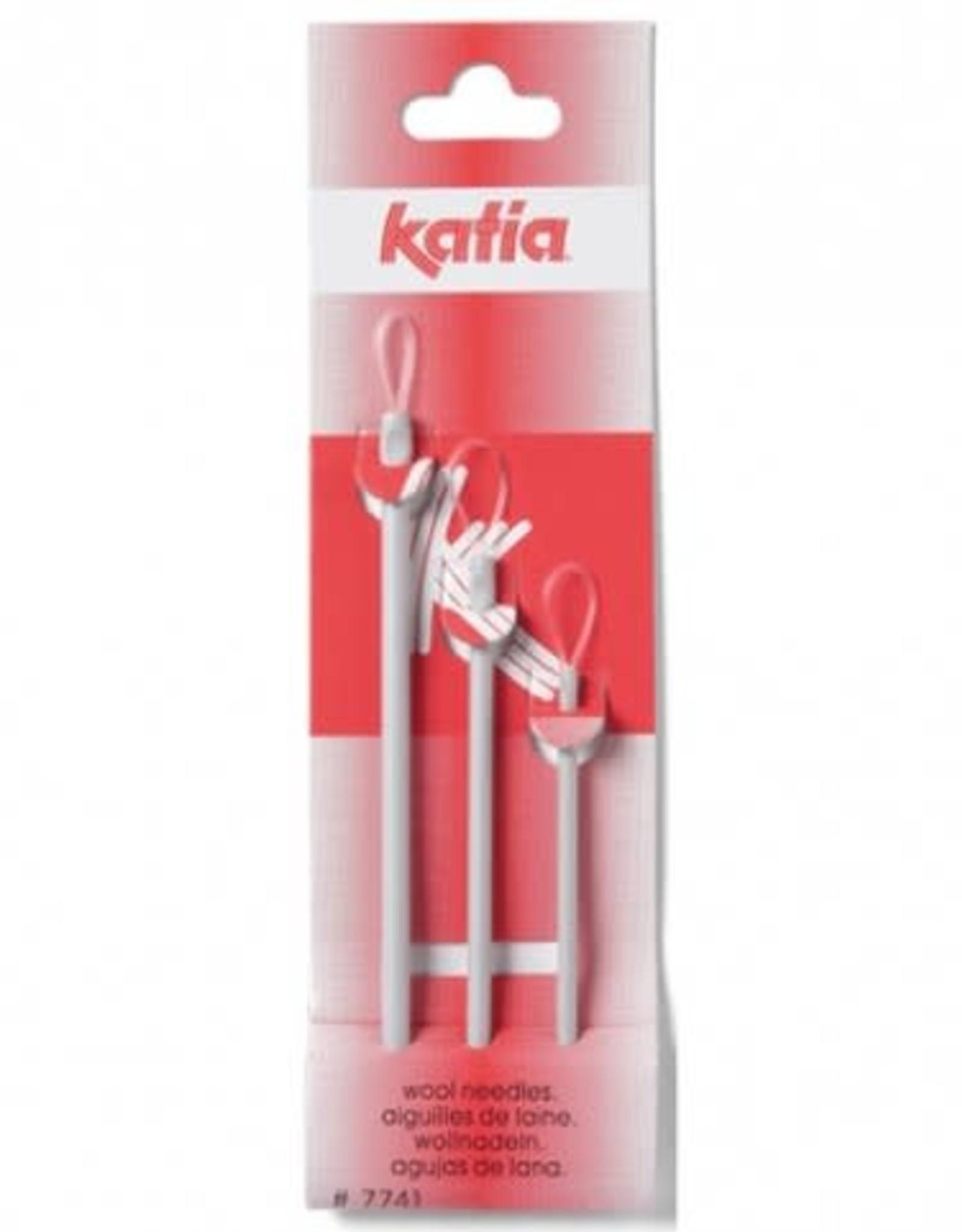 Katia Katia  Borduurnaalden Assortiment per 3 stuks