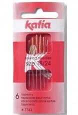 Katia Katia  Borduurnaalden Nº18-24 per 6 stuks
