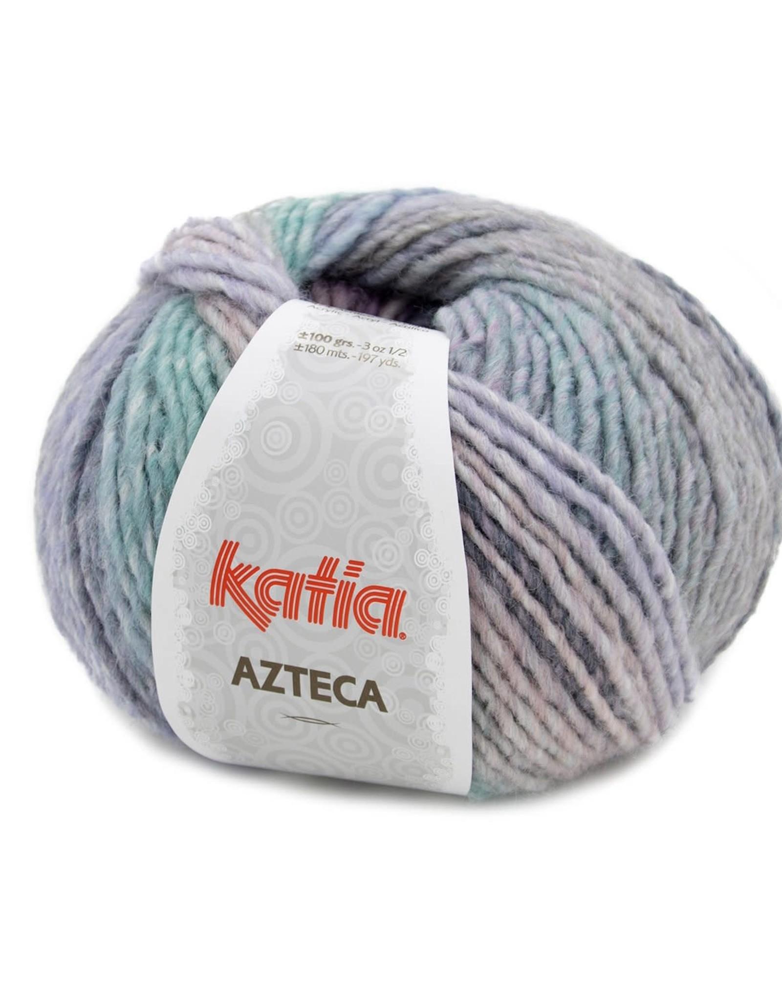 Katia Katia Azteca 7878 Pastel-Paars-Groen