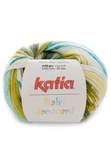 Katia Katia Baby Jacquard 85 - Groen-Waterblauw