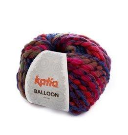 Katia Katia Balloon 55 - Roze-Blauw-Parelmoer-lichtviole