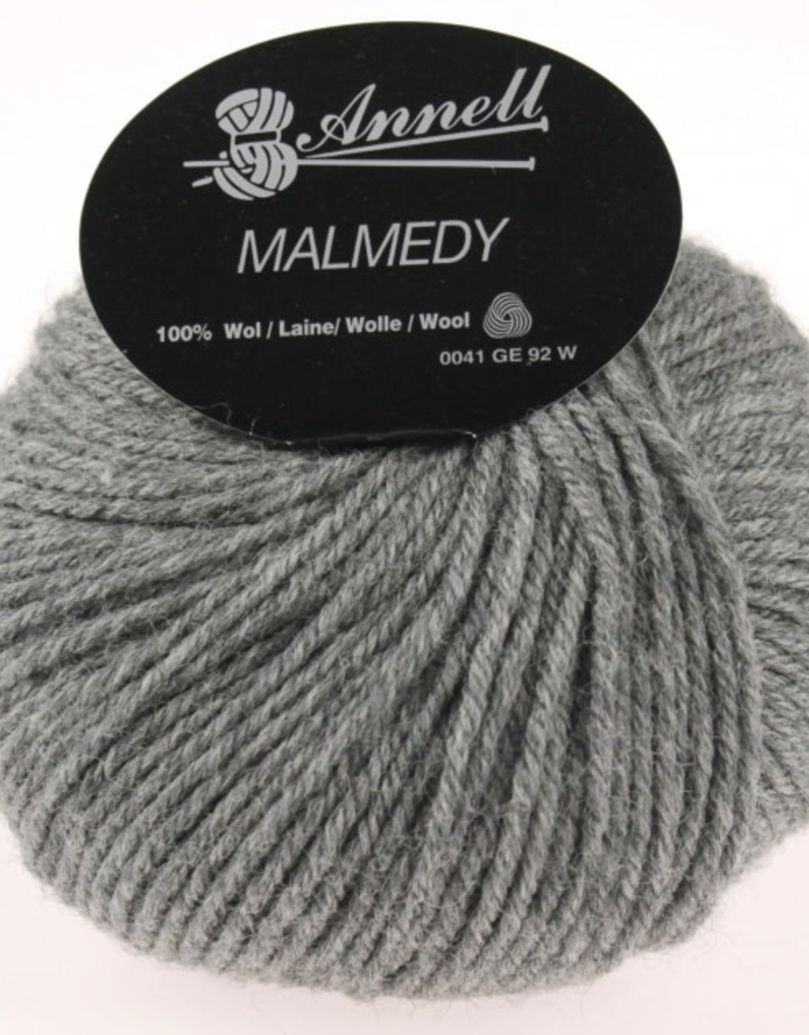 Annell Annell Malmedy 2657 - GEMELEERD GRIJS