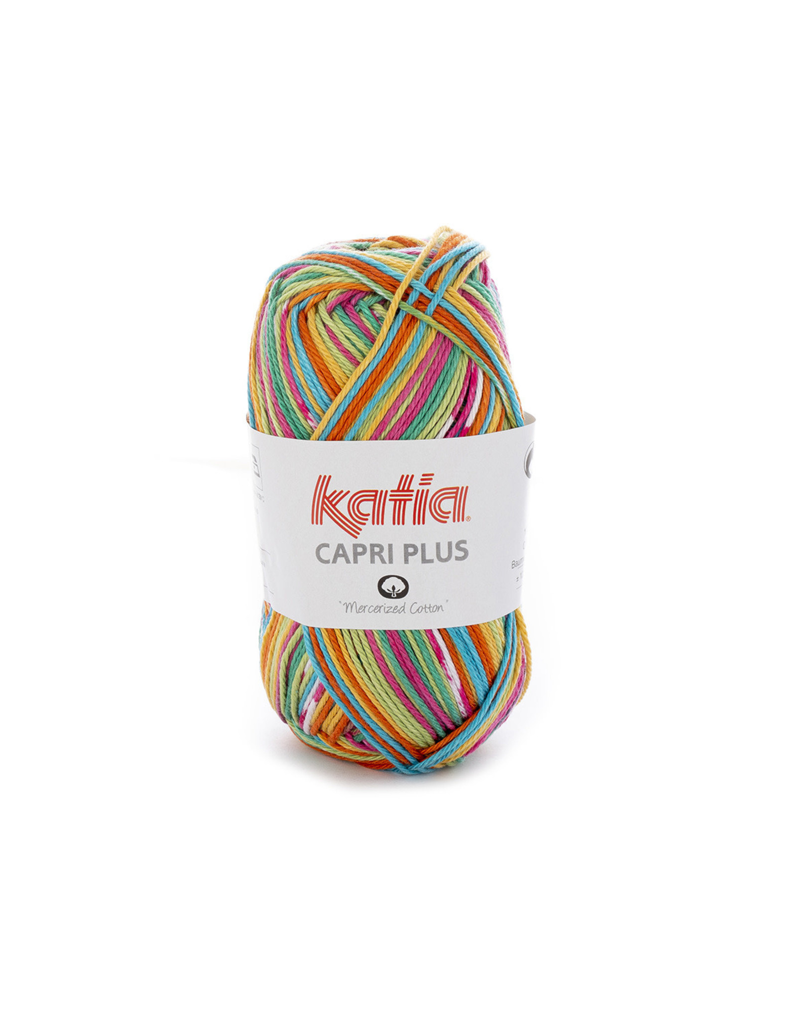 Katia Katia capri plus 104 - Pistache-Oranje-Turquoise-Fuchsia
