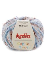 Katia Katia Copito Print 101 Blauw-Beige-Wit