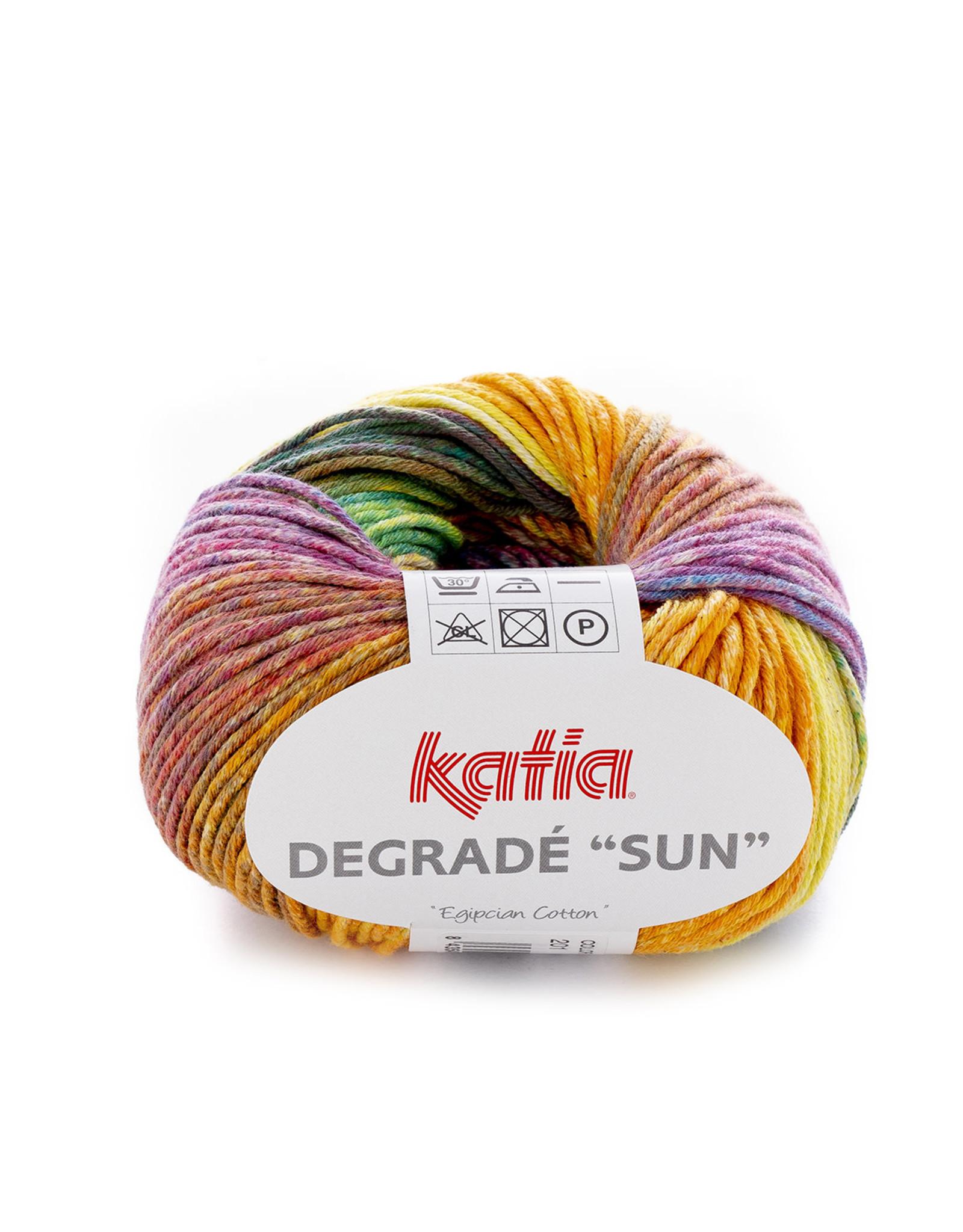 Katia Katia Degrade Sun 201 Groen-geel-lila