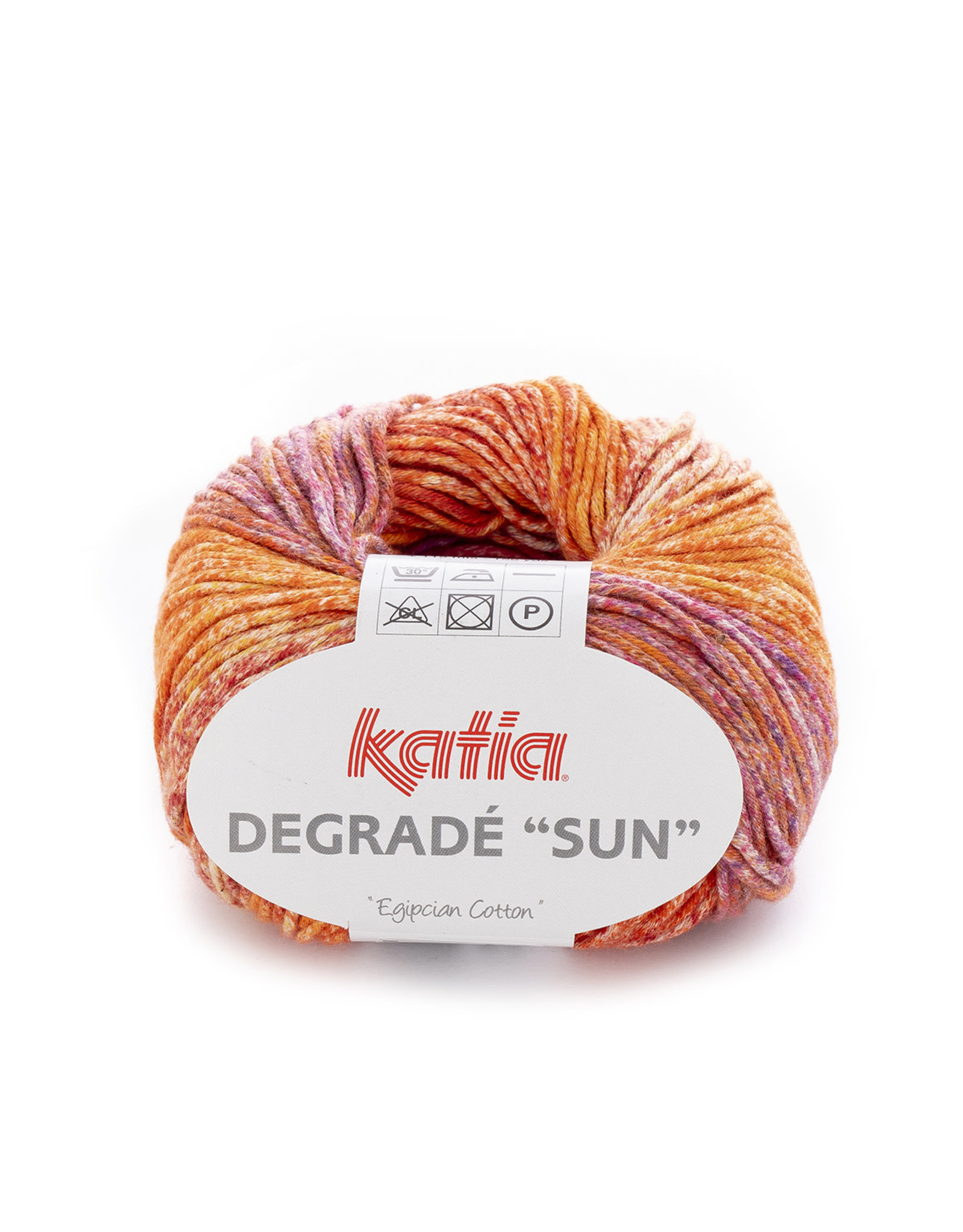Katia Katia Degrade Sun 203 roodoranje-geel-roodroze