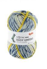 Katia Katia Easy Greeks Socks 70 - Jeans-Terrabruin-Oker