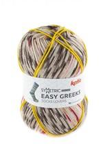 Katia Katia Easy Greeks Socks 71 - Bruin-Terrabruin-Rood