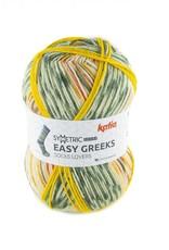 Katia Katia Easy Greeks Socks 72 - Kaki-Terrabruin-Oker