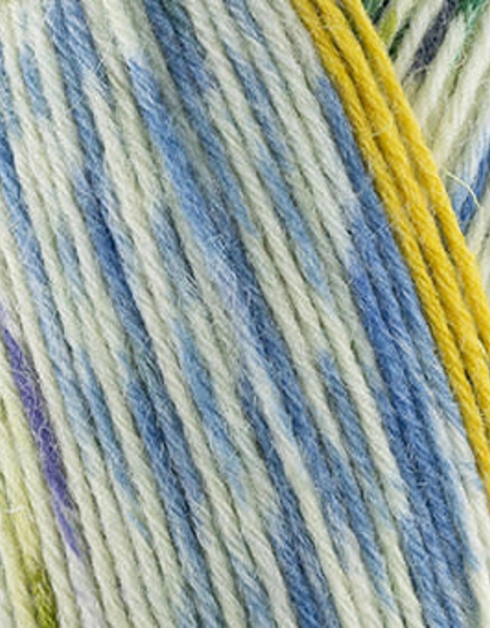 Katia Katia Easy Greeks Socks 74 - Blauw-Groen-Nachtblauw
