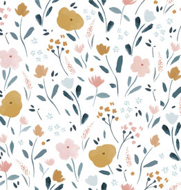 Katia Katia Fabrics katoen 79 little rat flowers