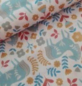 Katia Katia Fabrics katoen p85 Horses Countryside