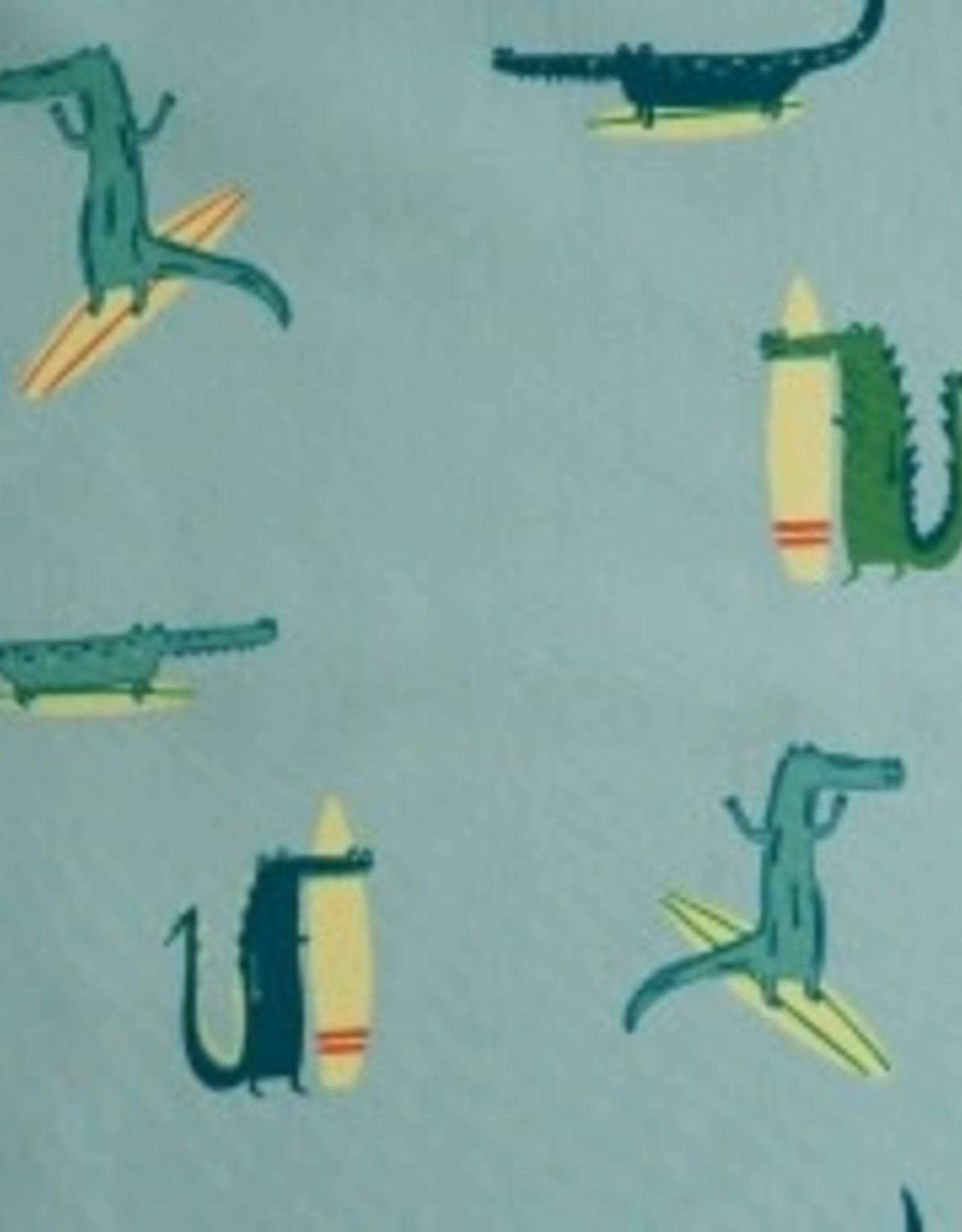 Katia Katia Fabrics katoen surfing crocodile p56