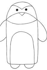 Katia Katia Fabrics patroon pinguin trappelzak BA 5