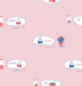 Katia Katia Fabrics sweat 18 three bio pigs