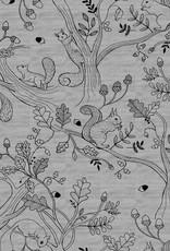 Katia Katia Fabrics sweat Melange 7 Squirrel
