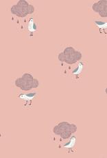 Katia Katia Fabrics Waterproof birds in the rain 87